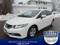 2014 Honda Civic LX, Warranty, 52 Km, Save