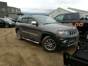 2014 Jeep Grand Cherokee Limited 8.4 touchscreen, Navigation, Bl