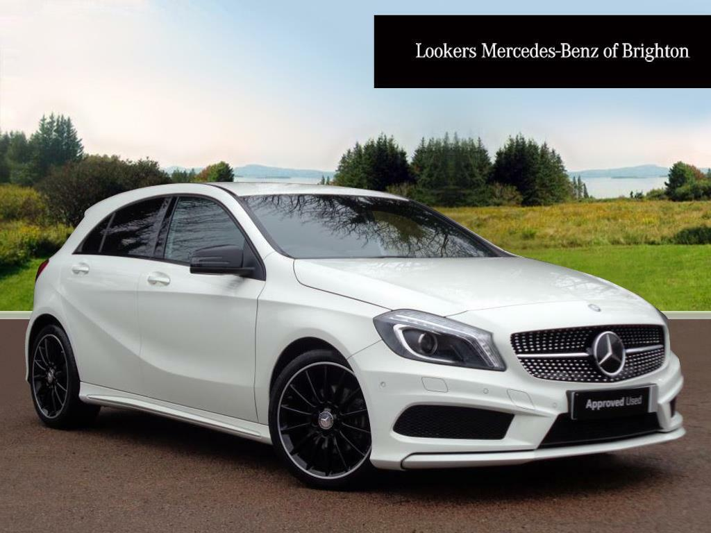 mercedes benz a class a200 cdi amg night edition white. Black Bedroom Furniture Sets. Home Design Ideas