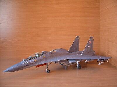 Modelik 30/08 -  SUCHOJ SU-30 MKK    1:33   mit Lasercutteilen