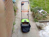 Challenge electric lawn raker