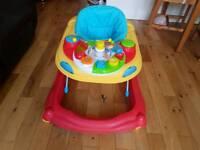 Kids r us baby walker. Excellent for hard floors