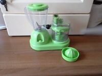 Battery operated food mixer blender