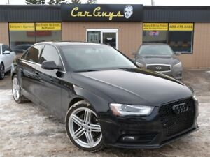2014 Audi A4 2.0 - S-Line Wheels, Heated Leather, Sunroof