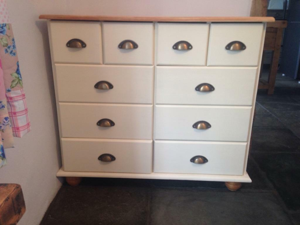 Lovely hand painted chest in harleston norfolk gumtree for Hand painted chests