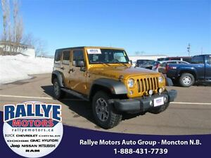 2014 Jeep Wrangler Unlimited Rubicon! 4x4! Alloy! Heated! Leathe