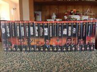 James Bond 007 VHS Tape Collection