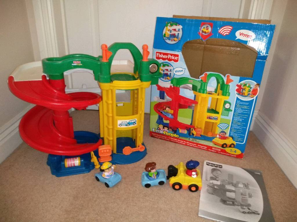 Little People Garage : Overview of fisher price little people discovering vehicles at the