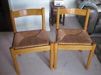 Two Italian-designed Magistretti Chairs