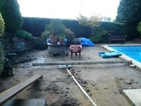 Labourer for swimming pool groundworks
