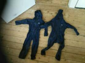 Children's trespass waterproofs age 3-4
