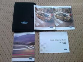 Ford B-MAX 2012-2016 Owners Manuals