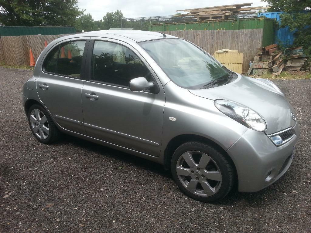 2009 nissan micra n tec 5 door hatchback 1240cc petrol with in bult sat nav in sydenham. Black Bedroom Furniture Sets. Home Design Ideas