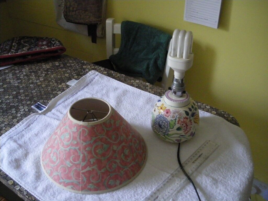 Poole pottery table lamp art deco style working order and perfect image 1 of 4 mozeypictures Images