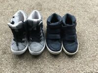 Boy shoes / trainers x 2. Next. Childs size 9. Really good condition.