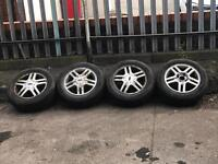 195/60R15 ALLOY WHEELS WITH TYRES