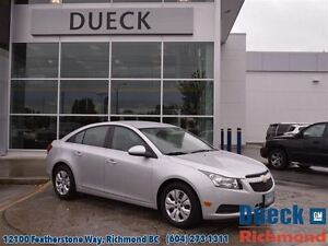 2012 Chevrolet Cruze LT Turbo  - Accident Free -  Local...A/C -
