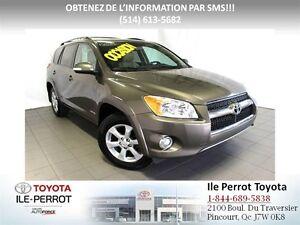 2012 Toyota RAV4 LIMITED, CUIR, NAVIGATION, MAGS, UN PROPRIÉTAIR