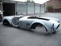 AC Shelby 427 Cobra Replica Kit Car. Unfinished project. Jaguar XJS. Rover V8