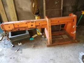 Forklift crane