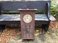 1930's oak clock
