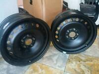 2 steel wheels for Ford mondeo
