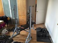 York 540 Folding Squat Bench RRP: £230
