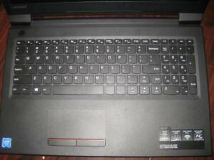 "Lenovo V110 Laptop. 15.6"" HD Display. Intel Celeron 3855U. 4GB RAM. 500GB HDD. WiFi. USB. HDMI. DVD. WebCAM. Ethernet"