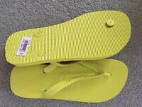 GREEN Haviana Flip flops