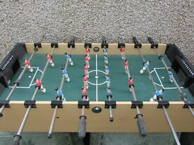 Brilliant LARGE Fussball Table Football Game for Playroom / Den etc Fully working
