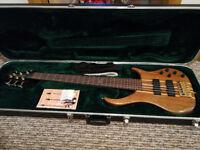 RARE - Peavey Cirrus Claro Walnut 6 String Bass Guitar - American Hand Made