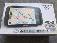 TomTom GO 6100+Lifetime free World Maps+Lifetime speed camera+Lifetime Traffic