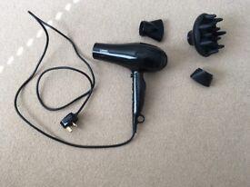 Hair dryer (Hairdryer) with accessories