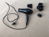 Hair dryer (Hairdryer) with accessories