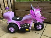 Girls Motorised Motorbike