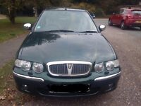 ROVER 45 VERY LOW MILES **FULLY LOADED EXEC** SWAP FOR ANY HONEST DIESEL PX WELCOME*****