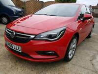 2017 Vauxhall Astra Sri Ecoflex S/S -1.0 Petrol - 25,000 Miles Only - 1 Owner From New