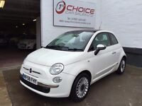 FIAT 500 1.2 i LOUNGE ** PANORAMIC ROOF ** 1 OWNER ** FULL SERVICE HISTORY **