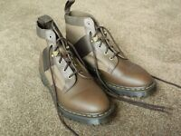 Dr Martens Beam 6 Tie boots - size 11 - brown