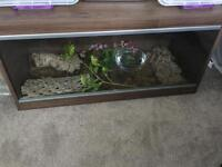 3feet long wooden vivarium for reptiles