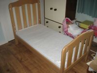 Mamas and Papas Kids /Toddlers COT BED (minus sides)