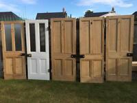 5 Victorian doors