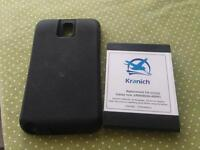 Battery with case for Samsung note 3