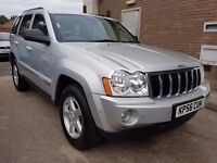 Jeep Grand Cherokee 3.0 CRD V6 Limited, 2 Owners, FSH, Leather, High spec, Warranty