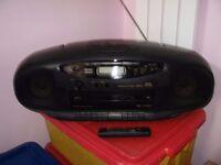JVC RC-X720 CD/RADIO/TWIN CASSETTE PORTABLE BOOM BOX