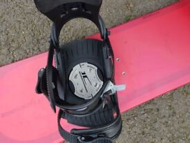 B Bond special edition snowboard with bindings size 128cm