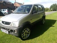 2003 Daihatsu Terios 1.3 EL 4X4 mot till April 2019 excellent condition inside and out , PX to clear
