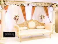 Wedding and Event stage decor from £250