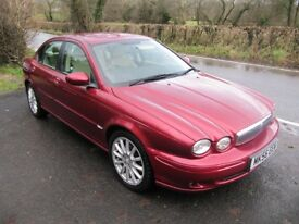 65 MPG JAGUAR DIESEL X-TYPE, 2.0 S, STUNNING, NEW MOT, CREAM LEATHER, S.H., PART-EXCHANGE WELCOME