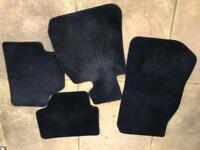 BMW X1 genuine fitted car matts (full set)